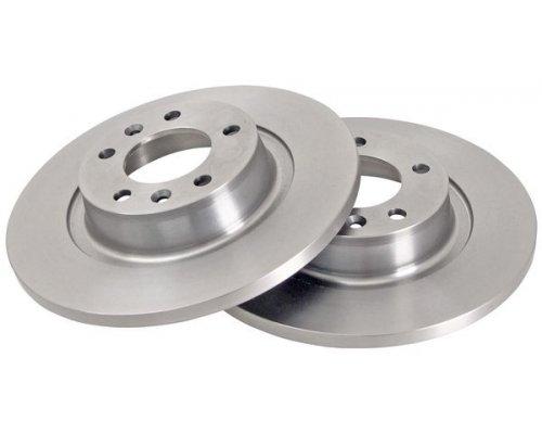 Тормозной диск задний Fiat Scudo II / Citroen Jumpy II / Peugeot Expert II 2007- 562525CH CHAMPION (США)