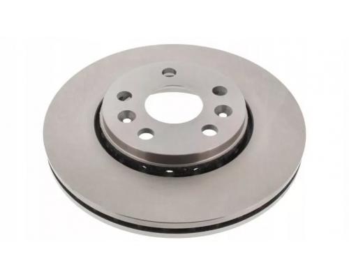Тормозной диск передний (R15 / R16, D=280mm) Renault Kangoo II / MB Citan 2008- 562730CH CHAMPION (США)