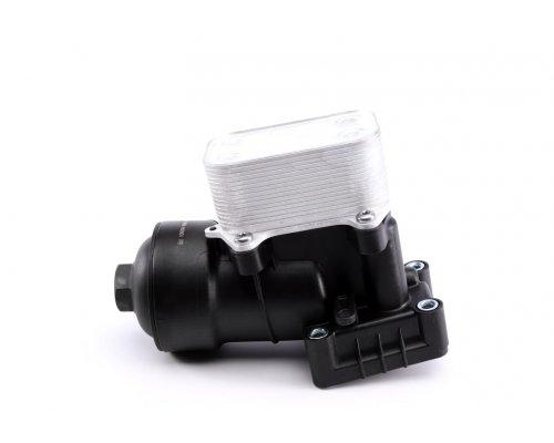 Радиатор масляный / теплообменник (с корпусом) VW Transporter T5 2.0TDI / 2.0BiTDI 2009-2015 56550 AIC (Германия)