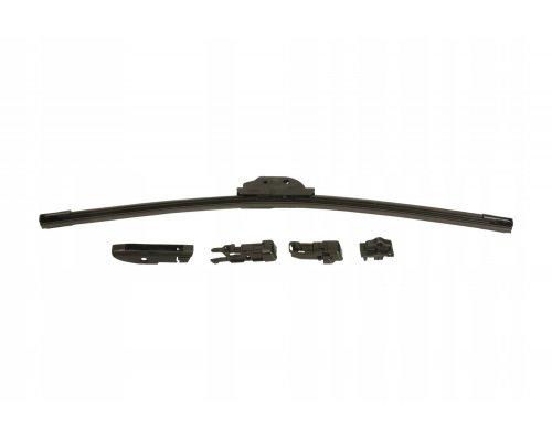 Щетка стеклоочистителя водительская (бескаркасная, 500мм) Renault Kangoo / Nissan Kubistar 97-08 575005 VALEO (Франция)