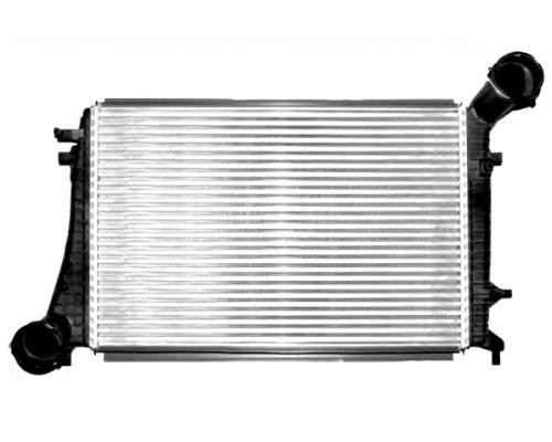 Радиатор интеркулера (двигатель BLS / BSU / BMM) VW Caddy III 1.9TDI / 2.0TDI 103kW 04-10 58004268 VAN WEZEL (Бельгия)