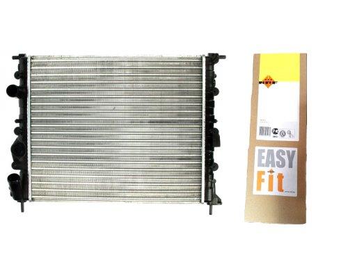 Радиатор охлаждения (430х349х23мм) Renault Kangoo 1.5dCi 2001-2008 58023 NRF (Нидерланды)