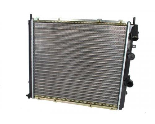 Радиатор охлаждения (478х439х42мм) Renault Kangoo 1.9D 1997-2008 58075A NRF (Нидерланды)