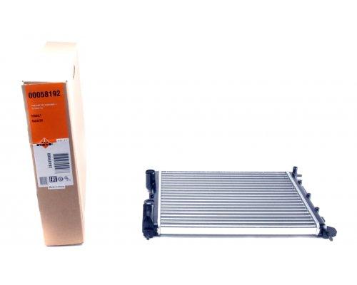 Радиатор охлаждения (430х378х23мм) Renault Kangoo 1.2 (бензин) 1997-2008 58192 NRF (Нидерланды)