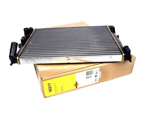Радиатор охлаждения (480х415х23мм) Renault Kangoo 1.4 / 1.6 (бензин) 1997-2008 58217 NRF (Нидерланды)