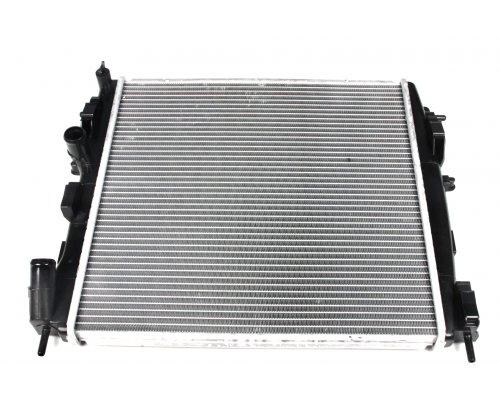 Радиатор охлаждения (460х470х34мм) Renault Kangoo 1.9dCi 2001-2008 58317 NRF (Нидерланды)