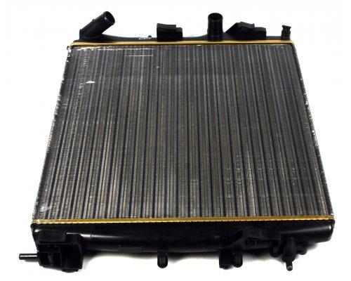 Радиатор охлаждения (460х470х34мм, Economy Class) Renault Kangoo 1.9dCi 2001-2008 58317A NRF (Нидерланды)
