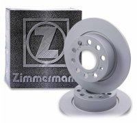 Тормозной диск задний (253х10mm) VW Caddy III 07- 600.3234.20 ZIMMERMANN (Германия)
