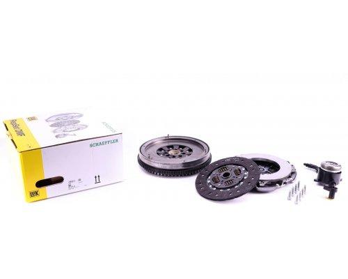 Демпфер / маховик + комплект сцепления + выжимной подшипник MB Sprinter 906 (двигатель OM646) 2.2CDI 2006- 600025500 LuK (Германия)