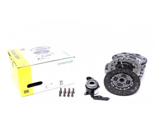 Демпфер / маховик + комплект сцепления VW Crafter 2.5TDI 65kW / 80kW / 100kW 2006- 600027500 LuK (Германия)