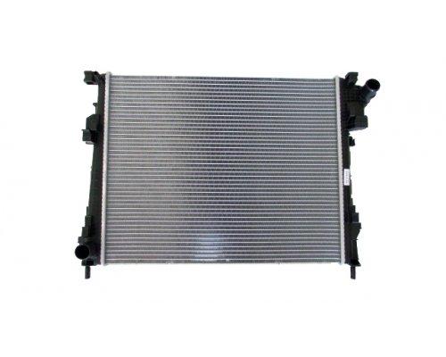 Радиатор охлаждения (469х560х27мм) Renault Trafic II / Opel Vivaro A 2.0dCi 2001-2014 602708-1 POLCAR (Польша)