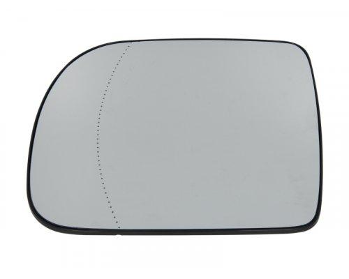Вкладыш зеркальный левый (асферичное, с подогревом) Renault Kangoo / Nissan Kubistar 1997-2003 6102-02-1223151P BLIC (Польша)