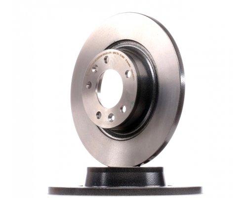 Тормозной диск задний Fiat Scudo II / Citroen Jumpy II / Peugeot Expert II 2007- 61053.00 Remsa (Испания)
