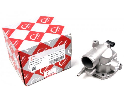 Термостат (с корпусом) MB Sprinter 2.2CDI / 2.7CDI 901-905 1995-2006 6112000715 ROTWEISS (Турция)