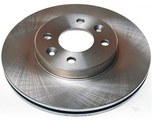 Тормозной диск передний (с ABS, D=259mm) Renault Kangoo / Nissan Kubistar 97-08 6144.10 ROADHOUSE (Испания)