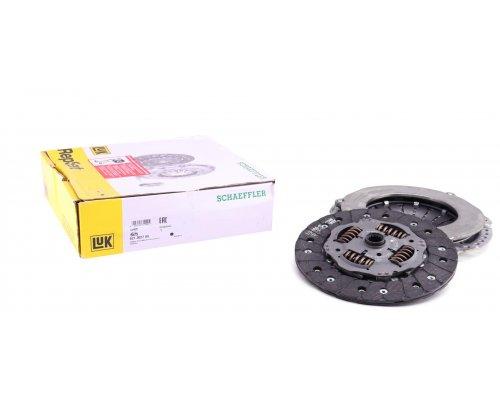 Комплект сцепления (корзина, диск, выжимной, с 1998 г.в) Fiat Scudo 1.9D 1998-2006 621302709 LuK (Германия)