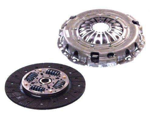 Комплект сцепления (корзина, диск) Renault Master II 1.9dTi, 2.5D / Opel Movano 1.9DTI, 2.5D 1998-2010 624307709 LuK (Германия)