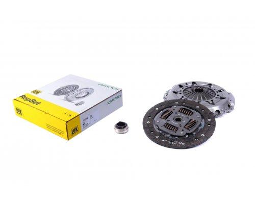 Комплект сцепления (корзина, диск, выжимной, d=240) Fiat Scudo II / Citroen Jumpy II / Peugeot Expert II 1.6HDi 2007- 624321800 LuK (Германия)