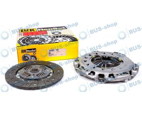 Комплект сцепления (корзина, диск) VW Crafter 2.5TDI 65kW / 80kW / 100kW 2006- 624327809 LuK (Германия)