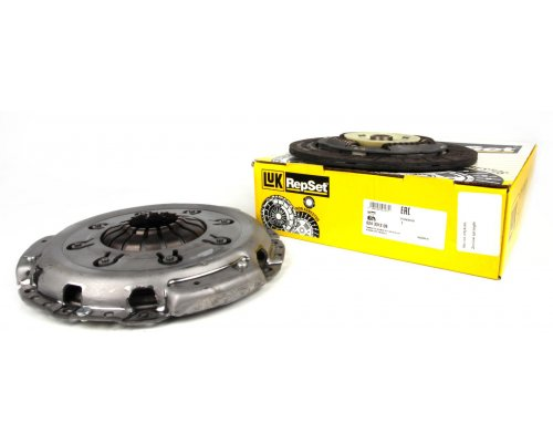 Комплект сцепления (корзина + диск) Renault Trafic II / Opel Vivaro A 1.9dCi 01-14 624331209 LuK (Германия)