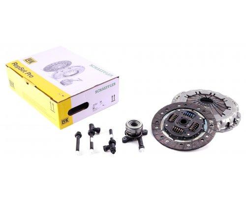Комплект сцепления (корзина + диск + выжимной) Renault Trafic II / Opel Vivaro A 2.0dCi 06-14 624347634 LuK (Германия)