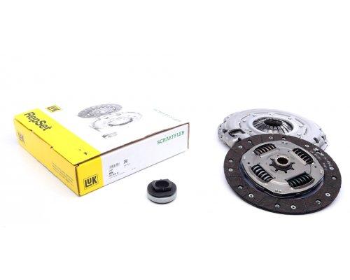 Комплект сцепления (корзина, диск, выжимной) Fiat Scudo II / Citroen Jumpy II / Peugeot Expert II 2.0HDi 72kW, 94kW 2007- 624389800 LuK (Германия)
