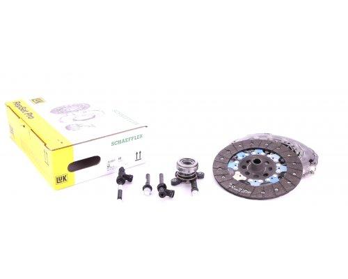 Комплект сцепления (корзина, диск, выжимной, передний привод) Renault Master III / Opel Movano B 2.3dCi 74 / 81 / 92 / 107 / 110kW 2010- 626304933 LuK (Германия)