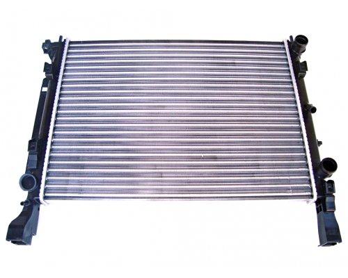Радиатор охлаждения (420x560x24мм) Renault Kangoo II 1.2TCe / 1.5dCi / 1.6 2008- 637628 NISSENS (Дания)