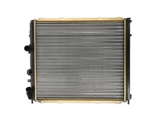 Радиатор охлаждения (с кондиционером, 480х433х34мм) Renault Kangoo 1.9D 1997-2008 63985 NISSENS (Дания)