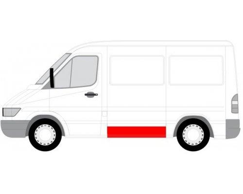 Ремонтная часть левой стороны (20x118.5см) MB Sprinter 901-905 1995-2000 6505-06-3546014P BLIC (Польша)