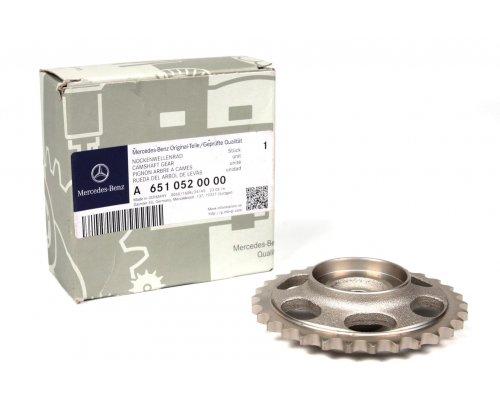 Шестерня распредвала (двигатель: OM651) MB Sprinter 2.2CDI 2009- 6510520000 MERCEDES (Оригинал, Германия)