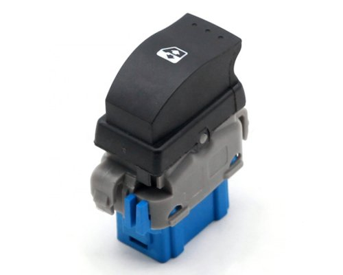 Кнопка стеклоподъемника правая (пассажирская) Renault Master III / Opel Movano B 2010- 702107 TOPRAN (Германия)