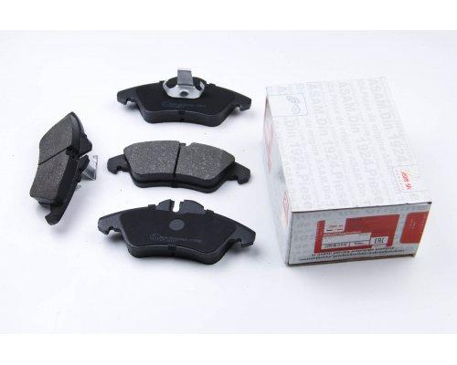 Тормозные колодки передние без датчика (система ATE) MB Vito 638 1996-2003 71317 ASAM (Румыния)