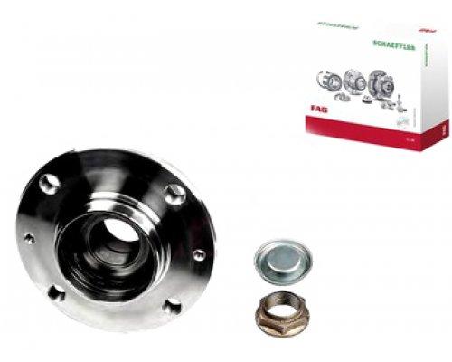 Подшипник ступицы задний ( c ABS, c 2004.11 г.в) Peugeot Partner / Citroen Berlingo 1996-2011 713640460 FAG (Германия)