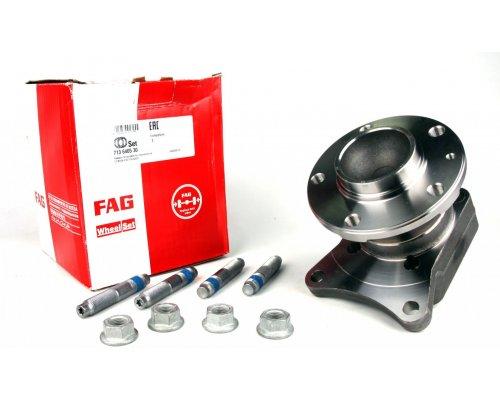 Подшипник ступицы задний (ступица, дисковые тормоза) Fiat Scudo II / Citroen Jumpy II / Peugeot Expert II 2007- 713640530 FAG (Германия)