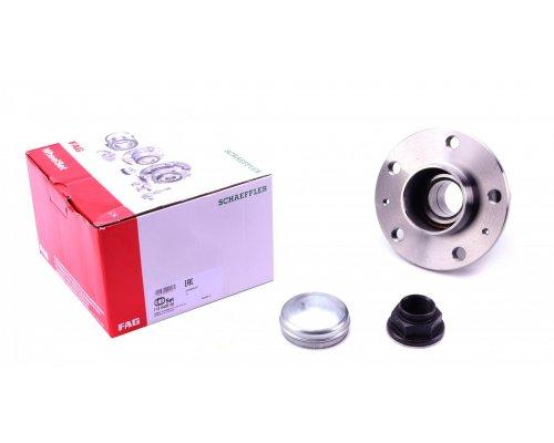Подшипник ступицы задний (ступица, 42х160х94мм, для повышенной нагрузки) Fiat Ducato II / Citroen Jumper II / Peugeot Boxer II 2006- 713640560 FAG (Германия)