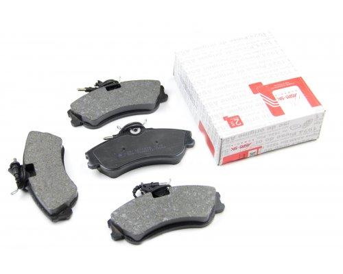 Тормозные колодки передние (до 2002 г.в.) Peugeot Partner / Citroen Berlingo 1996-2002 71384 ASAM (Румыния)