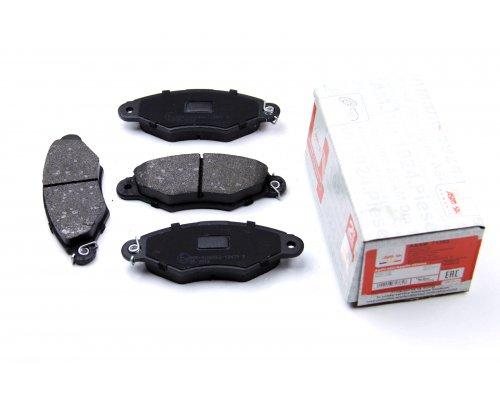 Тормозные колодки передние Renault Kangoo / Nissan Kubistar 97-08 71385 ASAM (Румыния)