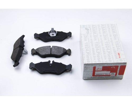 Тормозные колодки задние (141x50x17мм) VW LT 28-35 1996-2006 71398 ASAM (Румыния)