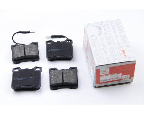 Тормозные колодки задние c датчиком (система ATE) MB Vito 638 1996-2003 71742 ASAM (Румыния)