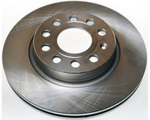 Тормозной диск передний (280х22mm) VW Caddy III 04- 600323320 ZIMMERMANN (Германия)