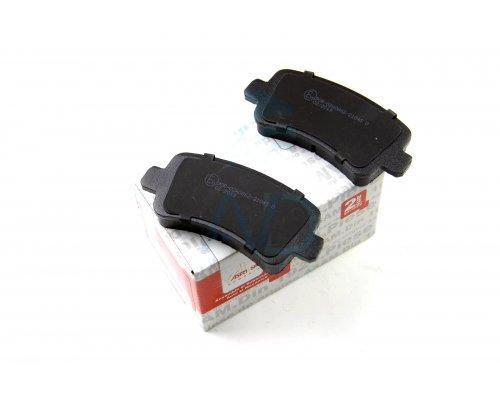 Тормозные колодки задние (без сдвоенного колеса, с датчиком) Renault Master III / Opel Movano B 2010- 74231 ASAM (Румыния)