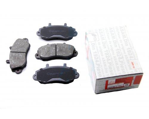 """Тормозные колодки передние (колесный диск 15"""") Renault Master II / Opel Movano 1998-2010 74529 ASAM (Румыния)"""