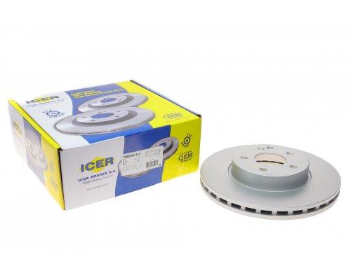 Тормозной диск передний (300х28мм) MB Vito 639 2003- 78BD0415-2 TEXTAR (Германия)