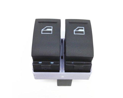 Кнопка стеклоподъемника левая двойная (водительская) VW Transporter T5 03- 7E0959855B9B9 VAG (Германия)