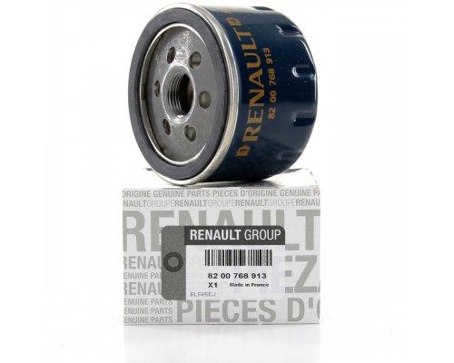 Фильтр масляный (низкий, 55мм) Renault Trafic II / Opel Vivaro A 1.9dCi 01-14 8200768913 RENAULT (Оригинал, Франция)