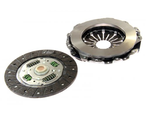 Комплект сцепления (корзина + диск, для гидравлического выжимного) Renault Kangoo 1.6 (бензин) 01-08 826034 VALEO (Франция)