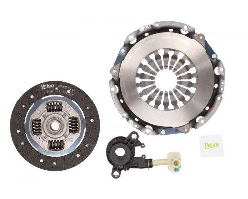 Комплект сцепления (корзина, диск, выжимной) Renault Kangoo II 1.6 (бензин) 2008- 834132 VALEO (Франция)