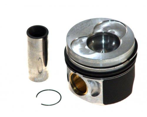 Поршень (для 1, 2 цилиндра, стандарт) VW Transporter T5 1.9TDI 63kW / 77kW (двигатель AXC / AXB) 03-09 87-114900-25 NURAL (Германия)
