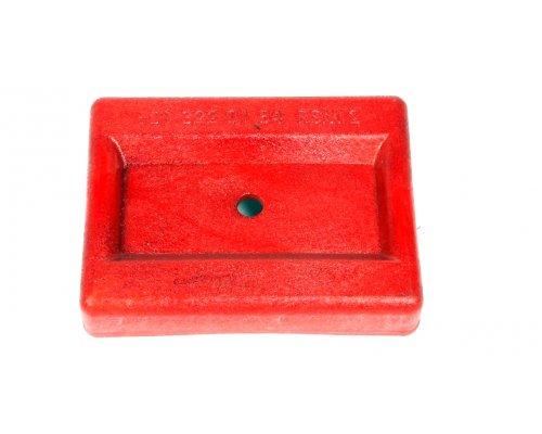Кронштейн подушки передней рессоры (правый, красный) MB Sprinter 901-905 1995-2006 9013220184 ROTWEISS (Турция)